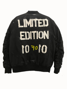 BOMBER JACKET LIMITED EDITION - EXKLUS1V