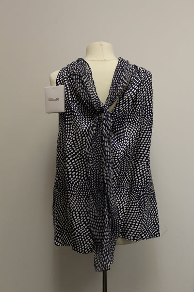 Easton Dot Sleeveless Blouse