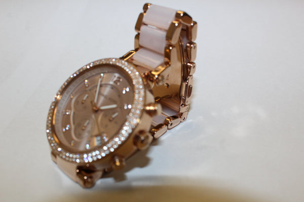 Ladies Designer Water Resistant Diamante Watch