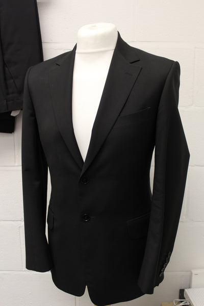 Paul Smith The Abbey Designer Mens 2 Piece Grey Suit Size 36