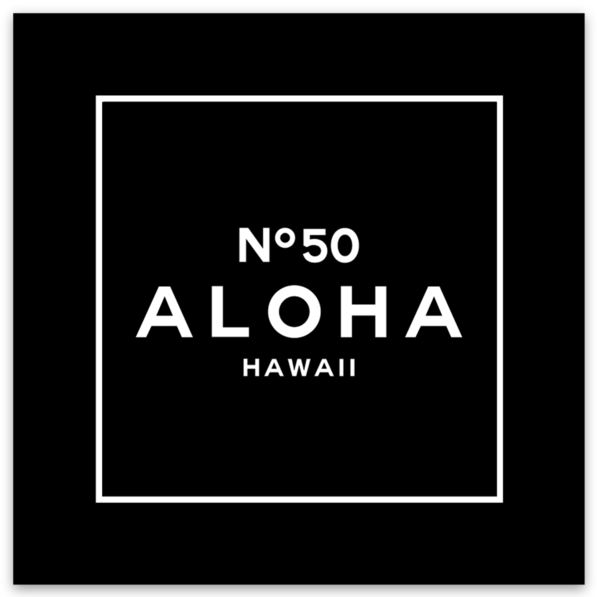 ALOHA NO. 50 DECAL