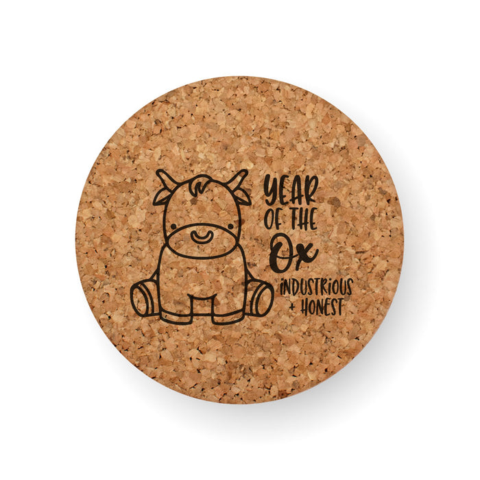 CHINESE ZODIAC YEAR OF THE OX COASTER