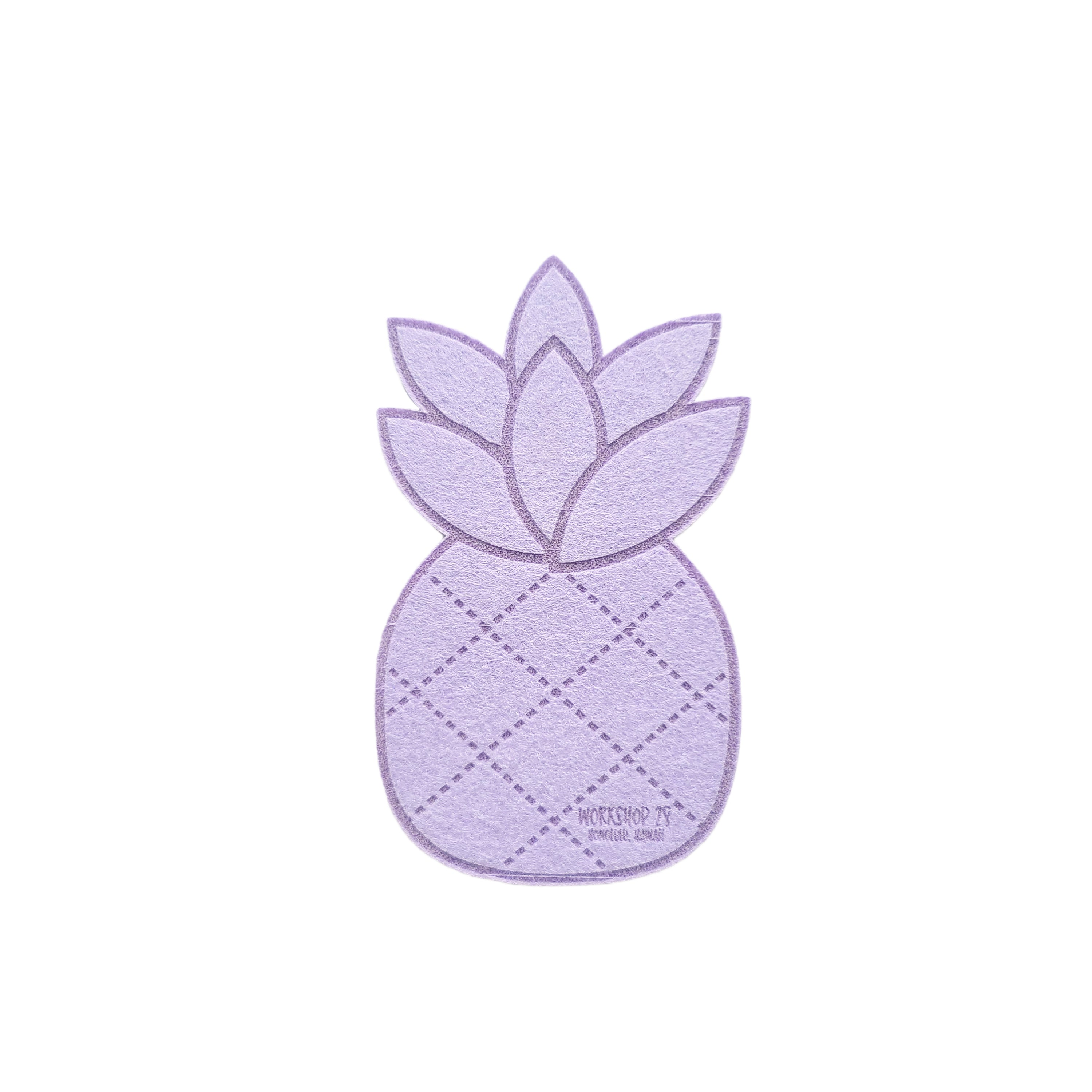 PINEAPPLE FELT COASTER