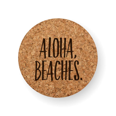 DISCONTINUED DESIGN : ALOHA BEACHES COASTER