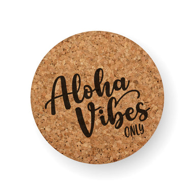 DISCONTINUED DESIGN : ALOHA VIBES ONLY COASTER
