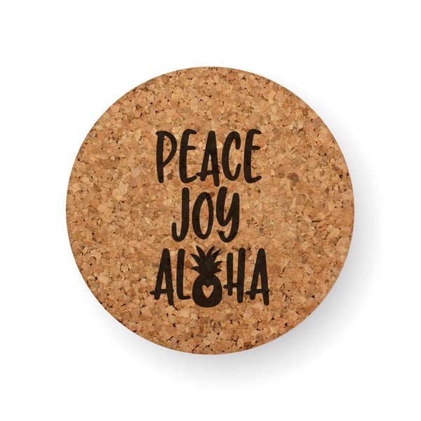 PEACE JOY ALOHA COASTER