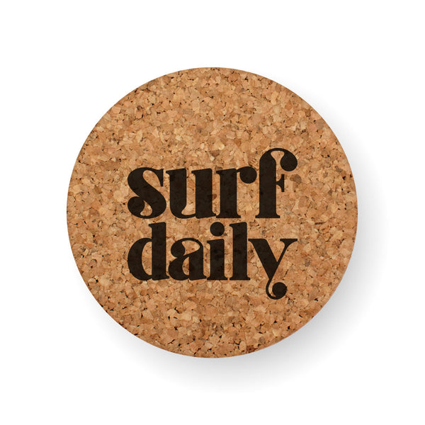 SURF DAILY COASTER
