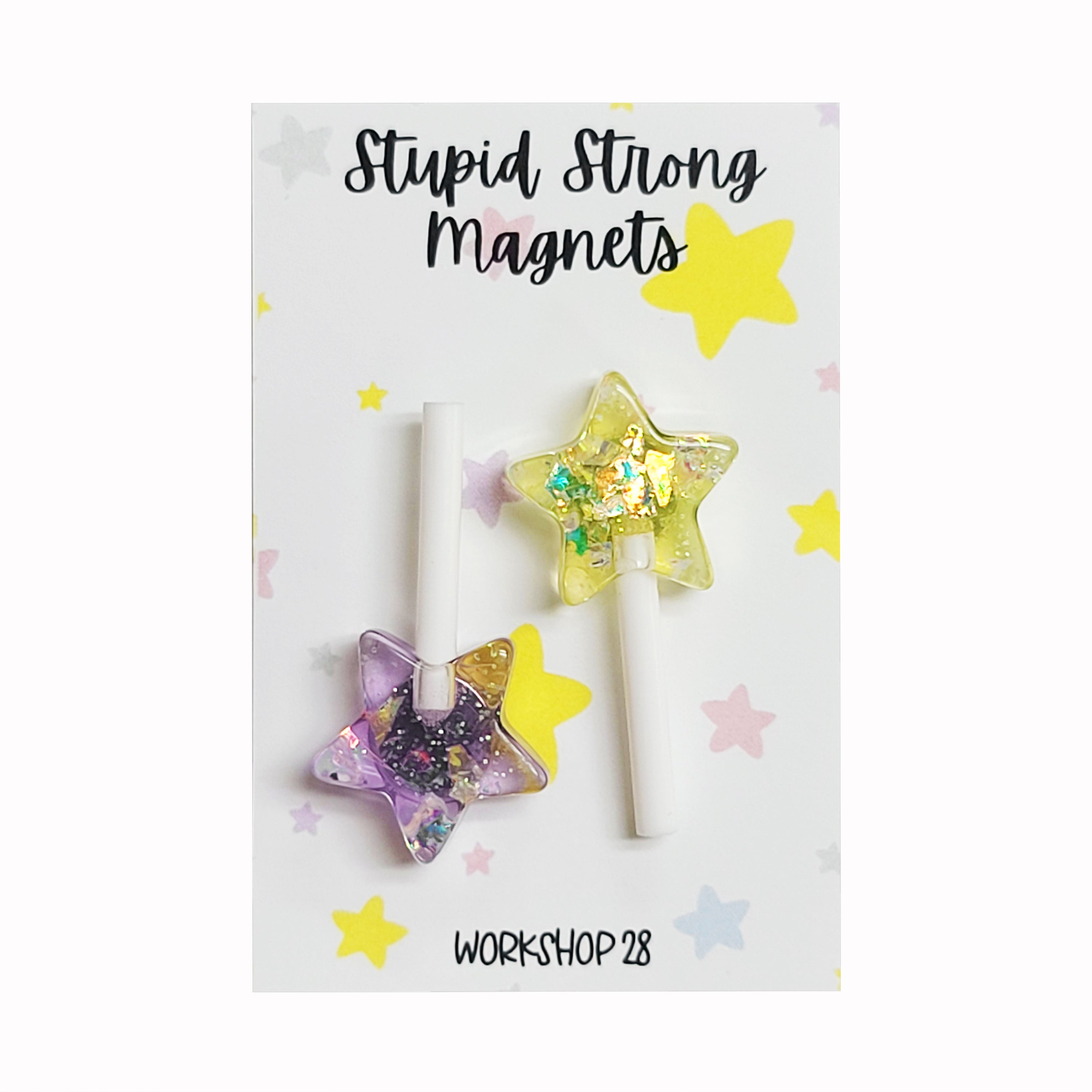 STUPID STRONG STAR POP MAGNET
