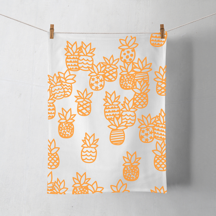 PINEAPPLE PATCH COTTON DISHCLOTH