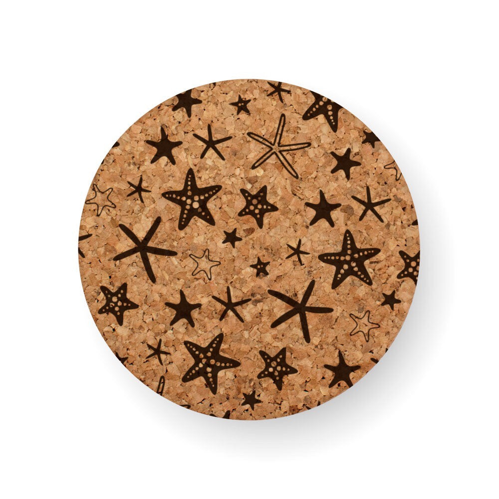 DISCONTINUED DESIGN : STARFISH STRUCK COASTER