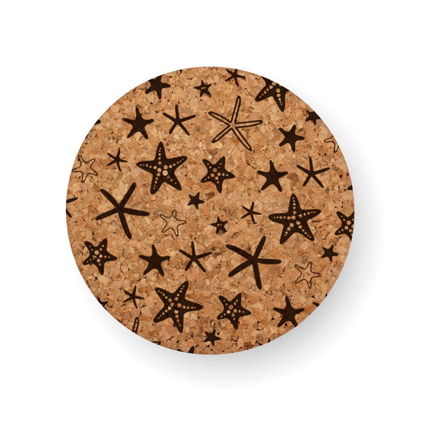 STARFISH STRUCK COASTER