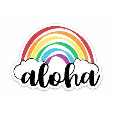 ALOHA RAINBOW DECAL