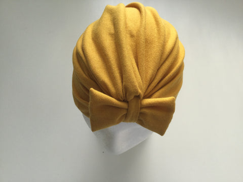Medium Turbans - Mustard