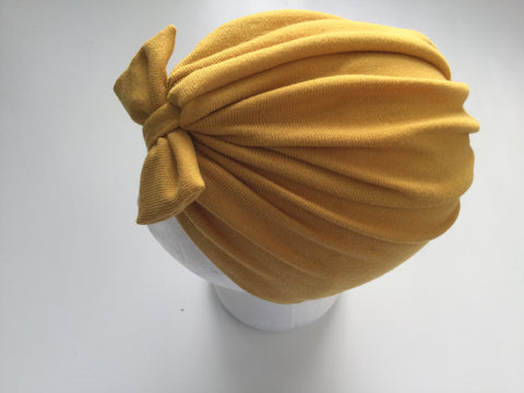 Small Turbans - Mustard