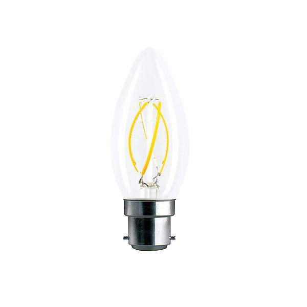 SYMSIS Graphene Candle B22 4W LED Bulb (Dimmable) 2700k