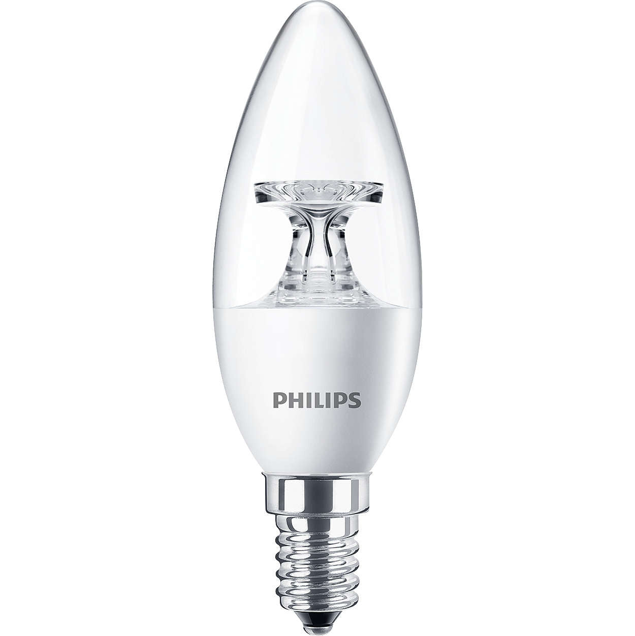 Philips CorePro E14 5.5W LED Candle (Non-Dimmable) Bulb