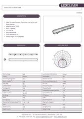 SYMSIS IP65 5ft 60W LED Batten 4000K Datasheet