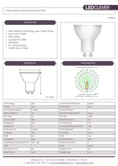 SYMSIS Graphene GU10 6W LED Bulb (Dimmable) 2700k Datasheet
