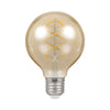 Crompton LED G80 Spiral Filament Antique 6W Dimmable 2200K ES-E27 Bulb