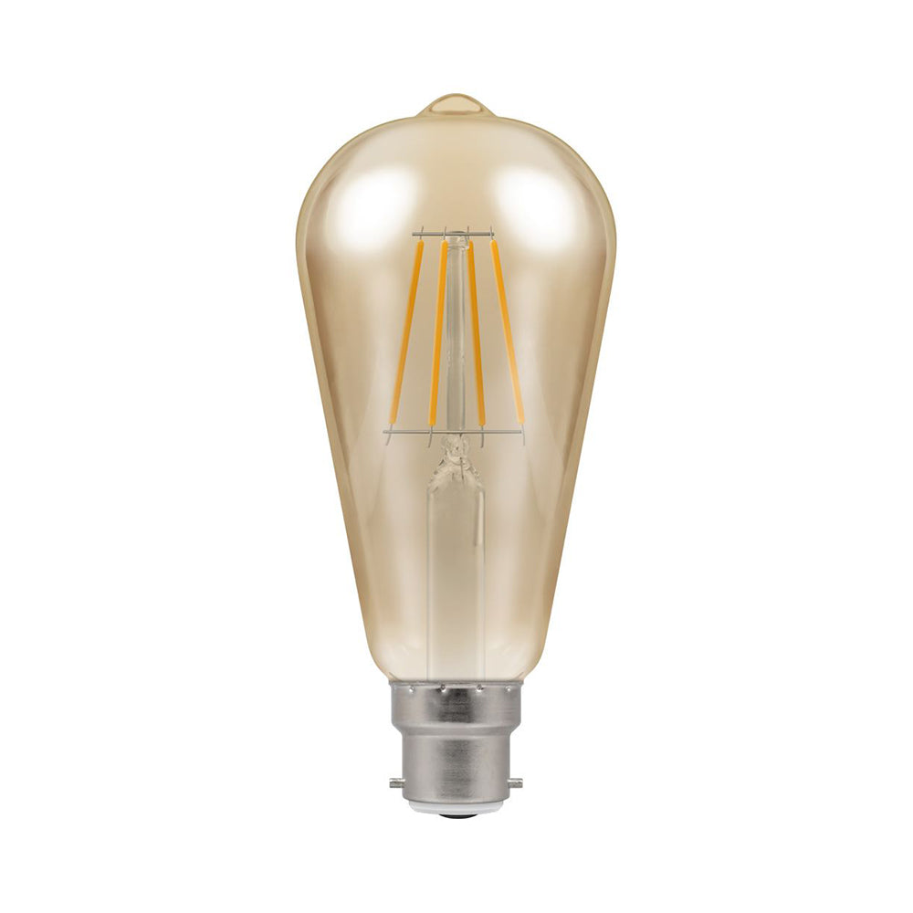 Crompton LED ST64 Filament Antique 5W Dimmable 2200K BC-B22d