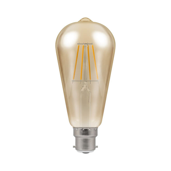 Crompton LED ST64 Filament Antique 5W Dimmable 2200K BC-B22d Bulb