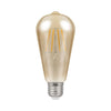 Cromptons Lamps LED ST64 Filament Antique 5W Dimmable 2200K ES-E27 Bulb