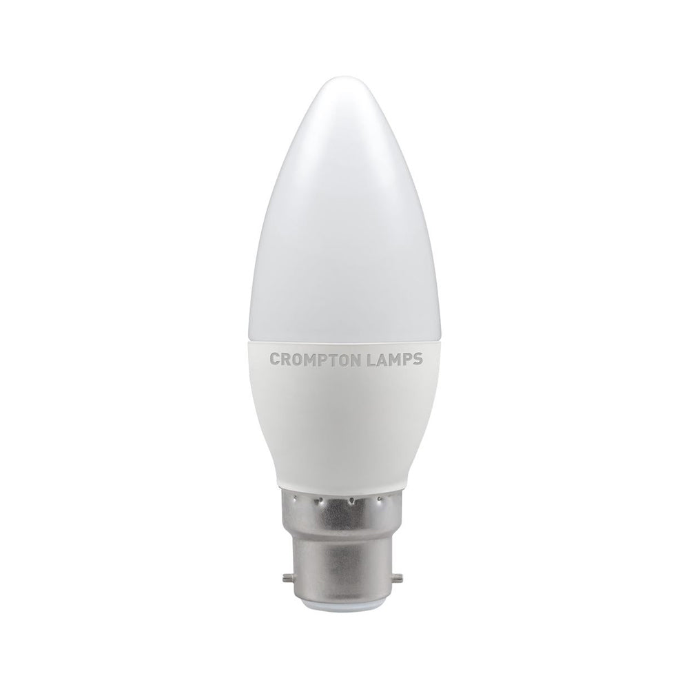 Crompton LED Candle Thermal Plastic 5.5W 4000K BC-B22d