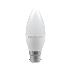 Crompton LED Candle Thermal Plastic 5.5W 4000K BC-B22d Bulb