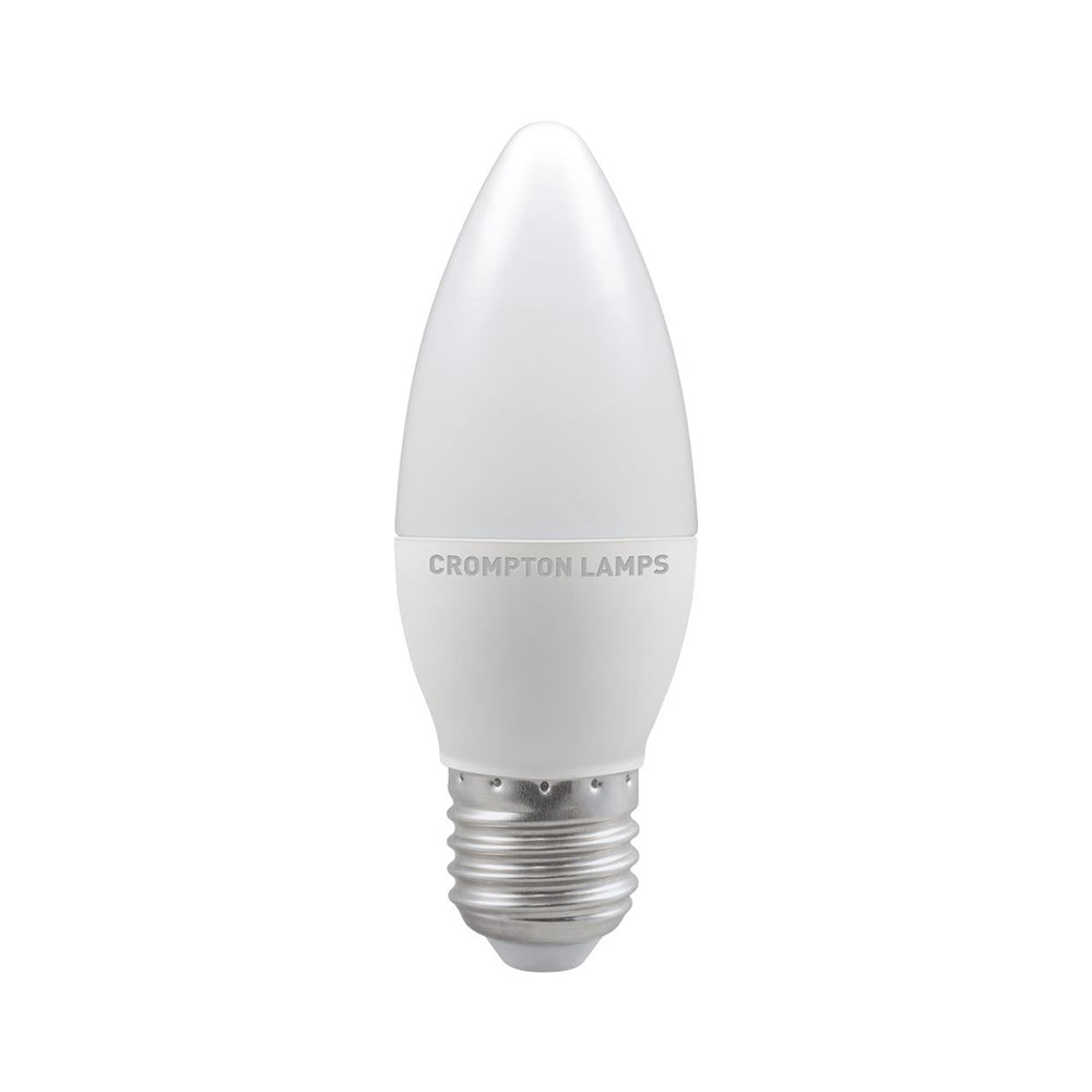 Crompton LED Candle Thermal Plastic Bulb 5.5W 2700K ES-E27