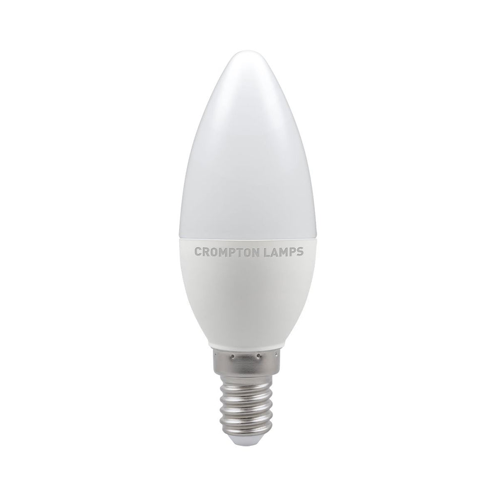 Crompton LED Candle Thermal Plastic Bulb 5.5W 2700K SES-E14