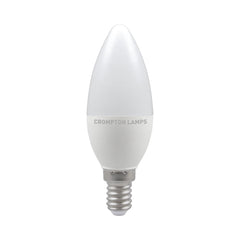 Crompton LED Candle Thermal Plastic 5.5W 4000K SES-E14 Bulb