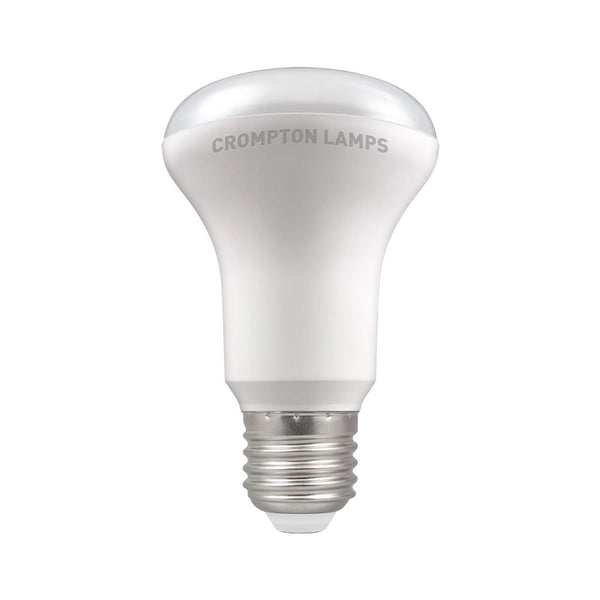 Crompton LED Reflector R63 Thermal Plastic 6W 2700K ES-E27