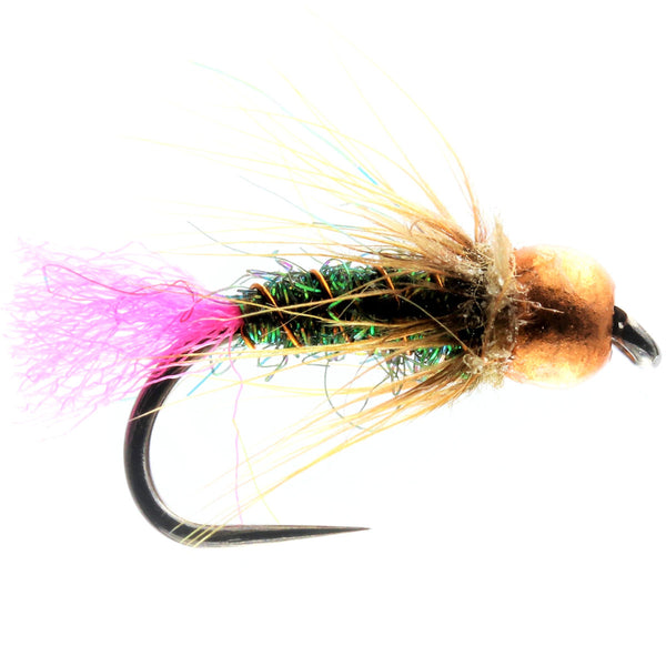 Pink Tag Tungsten Nymph