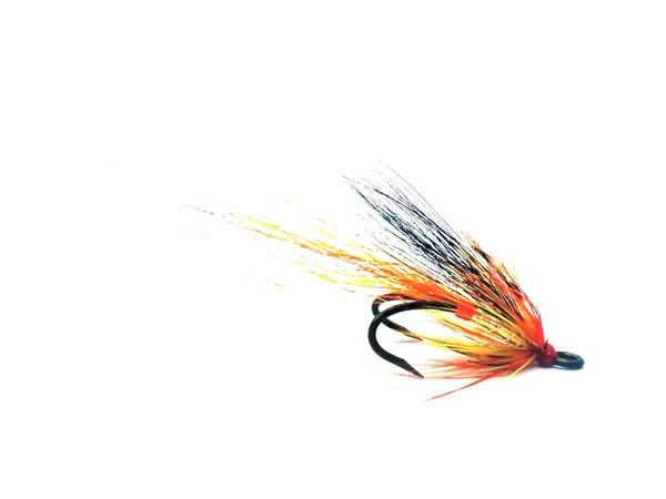 Ally's Cascade Shrimp - Barbless Salmon Double