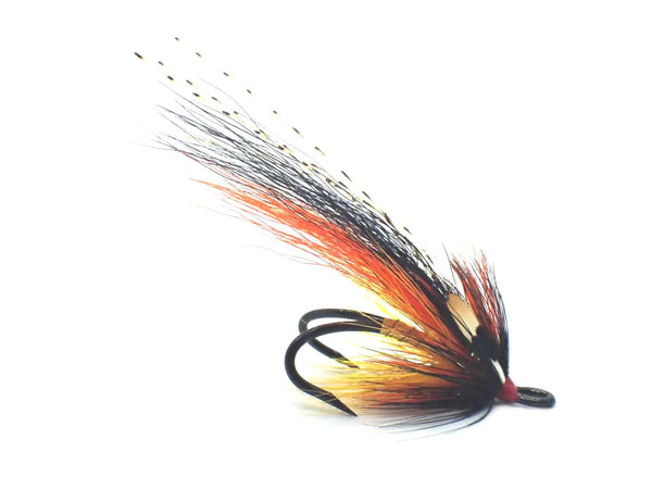Gold Willie Gunn - Barbless Salmon Double