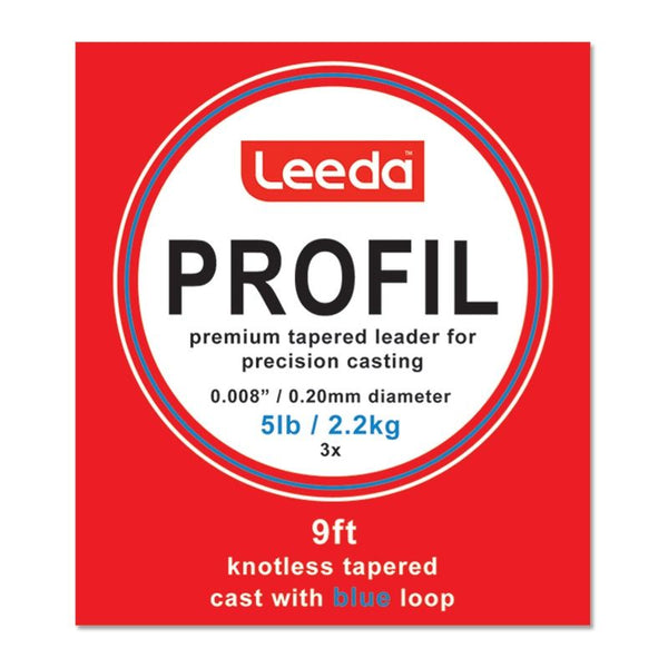 Leeda Profil 9ft Tapered Leader