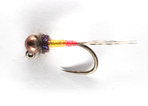 Mankov's BQ Hot Spot jig Nymph Copper Bead