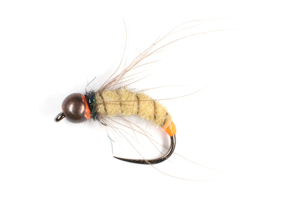 Mankov's Antron Caddis Pupa Copper Bead