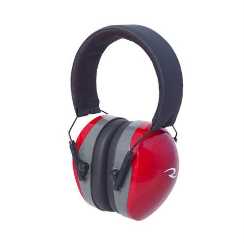Terminator Folding Earmuffs - Red