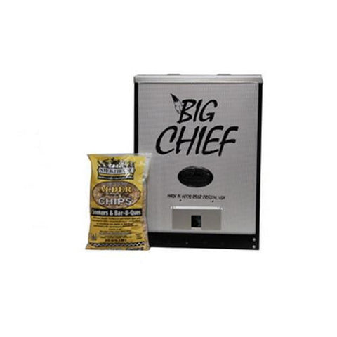 Big Chief - Front Load 50lb Capacity 450W Black