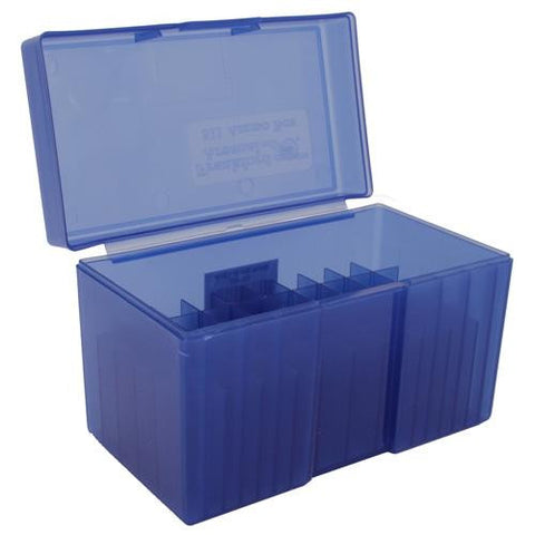 #511,  Belted Magnum 50ct. Ammo Box - Blue