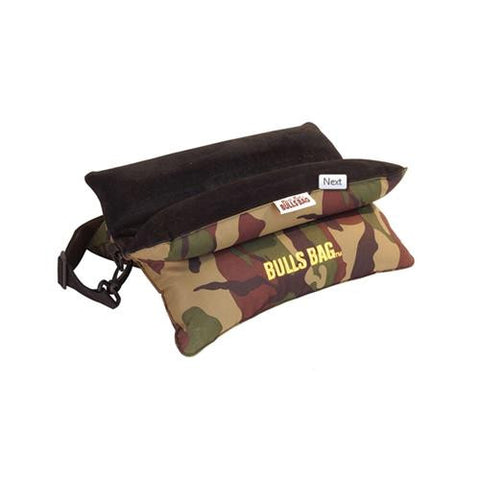 "Bench Rest Poly-Sued w-Carry Strap, 15"" - Camo"