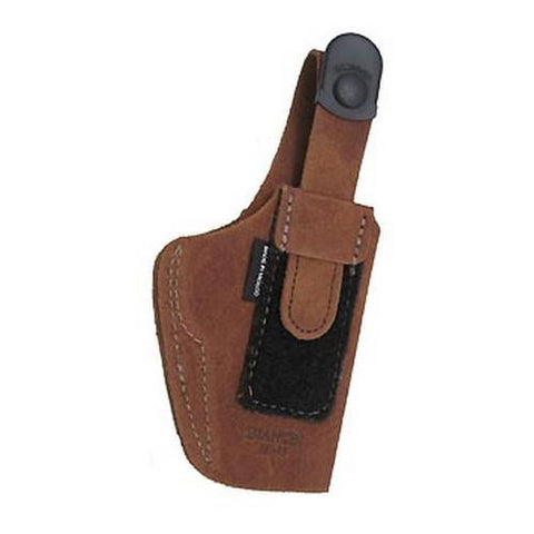 6D Deluxe Waistband Holster - Natural Suede, Size 08, Right Hand