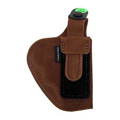 6D Deluxe Waistband Holster - Natural Suede, Size 01, Left Hand