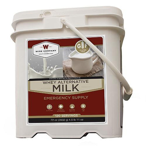 120 Serving Powdered Whey Milk Bucket