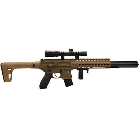 MCX AIR .177 Caliber, 88g CO2, 30 Roundswith Scope - Flat Dark Earth