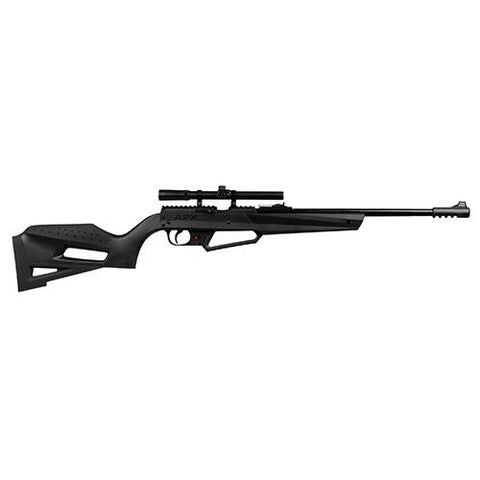 "NXG APX 490 Air Rifle Kit - .177 Caliber, 20"" Barrel, Black Stock-Blued with  4x15mm Scope"