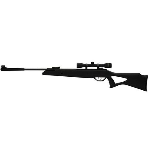 Longhorn Air Rifle, .177 Caliber with Black Synthetic Stock