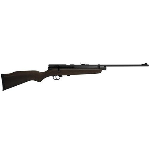 "SAG CO2 Air Rifle - .22 Caliber, 21.50"" Barrel, Fiber Optic Sight, Wood Stock"