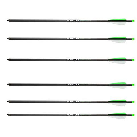 "20"" Carbon Arrows - 6 Pack"